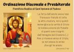 20211009 ordinazioni al santo 9 ottobre 2021 A